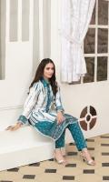 – Unstitched Tie & Dye Printed Silk Shirt – Unstitched Printed Silk Shalwars
