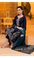 Viscose Barosha Shirt Jacquard Printed Dupatta Dyed Trouser