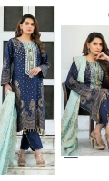 - Embroidered Un-Stitched Banarsi Lawn Shirts designs  - Embroidered Lawn Banarsi Dupattas With boring cutwork  - Plain Dyed Shalwar