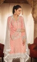 03 pcs unstitched luxury Chikankari Lawn with embroidered / Banarsi / Jacquard dupatta
