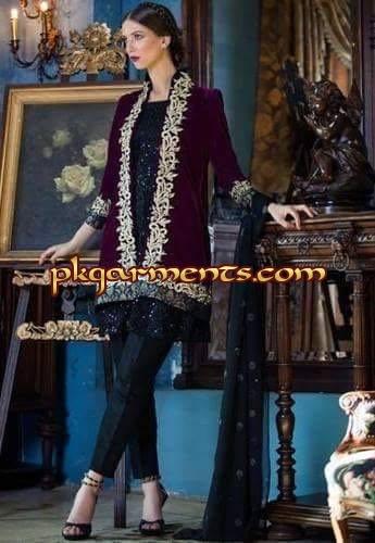 Velvet eastern dresses images