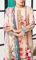 - Digital Embroidered Khaddar Shirt. - Khaddar Fabric for Dupatta . - Dyed Trouser.