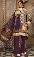 Digital Printed Suprema Lawn Shirt, Digital Printed Suprema Lawn Dupatta, Dyed Cotton Trouser