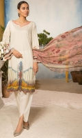 Shirt : Digital Printed Lawn Shirt  Trouser: Dyed Cotton Trouser  Dupatta: Digital Printed Bamber Dupatta