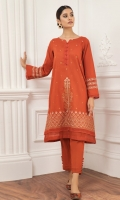 EMBROIDERED TEXTURED LAWN SHIRT LOOM SHAWL COTTON TROUSERS