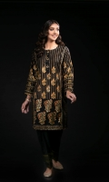 Embroidered Cotton Stitched 2 Piece Suit