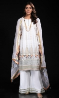Embroidered Cotton Stitched 3 Piece Suit
