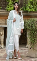 Includes:Shirt, Slip & Dupatta  Shirt: Cotton Net  Slip: Arabic Lawn  Dupatta: Cotton Net