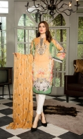 Digital Printed and Lawn and Embroidered Lawn with Embroidered Chiffon Dupatta