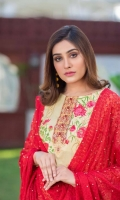 Digital Embroidered Lawn Front Digital Print Lawn Back Digital Printed Lawn Sleeves Chikenkari Embellished Chiffon Dupatta Dyed Cotton Trouser