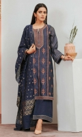 *2.5 Yards Jacquard Dupatta *Embroidered Cotton Net Front *Plain Cotton Net Sleeve *Plain Cotton Net Back *Embroidered Borders For Shirt *2.5 Yards Raw Silk Bottom