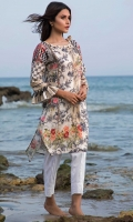 2.5 Meters Digital Printed Lawn Shirt (Wider Width), Fabric: Digital Printed Lawn