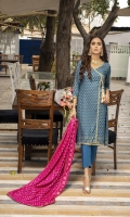 Shirt: - Printed Lawn Dupatta: - Printed Lawn Trouser: - Dyed Cambric