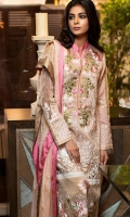 Embroidered Chikankari Unstitched 3 Piece Suit
