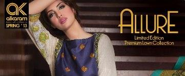 Al Karam Allure Spring Collection 2013 - Limited Edition