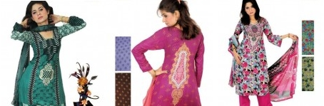 Maliya Lawn Suits Collection 2013 By Moon Textiles