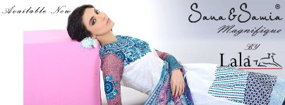 Sana &amp; Samia Magnifique Collection 2013 by Lala