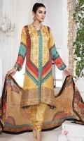 100% Pure Charmeuse Silk Shirt 100% Pure Tissue Silk Dupatta Pure Raw Silk Trousers Embroidered Neckline Patti Digital Printed 100% Pure Charmueuse Silk Patti
