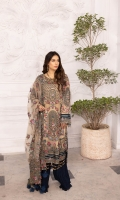 Embroidered Chiffon Front 0.8 MTREmbroidered Chiffon Back 0.8 MTREmbroidered Chiffon Sleeves 0.66 MTR Organza Embroidered Border for Sleeves 0.9 MTROrganza Embroidered Motif for Sleeves 4 PCSNet Embroidered Dupatta...