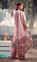 EMBROIDERED ORGANZA FRONT 0.8MTREMBROIDERED ORGANZA BACK 0.8MTREMBROIDERED ORGANZA SLEEVES 0.66MTREMBROIDERED SLEEVES MOTIFS 2PCEMBROIDERED NET DUPATTA 1.75YARDEMBROIDERED DUPATTA BORDER 1 2.25MTREMBROIDERED DUPATTA BORDER 2 2.25MTREMBROIDERED DUPATTA BORDER 3 2.25MTREMBROIDERED DUPATTA PATTI 5MTREMBROIDERED...