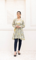 Printed Lawn Stitched Shirt