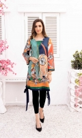 Digital Printed Lawn 1PC Stitched Shirt
