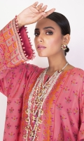 Shirt: Jacquard Shirt 3.12 Meters Lace For Sleeves - 1 Meter Lace For Daaman - 1 Meter Fabric: Jacquard  Dupatta: Printed Cotton Silk Dupatta Fabric: Cotton Silk  Trousers: Dyed Cambric Trousers Fabric: Cambric