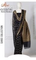 Embroidered Banarsi Chiffon Saree  Saree Chiffon Plain Zari