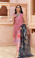 Shirt: Digital Printed Lawn Dupatta: Digital Printed Silk Trouser: Dyed Cambric  Embroidery Details: Thread and Sequins Embroidered Shirt's front