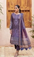 Shirt: Digital Printed Lawn Dupatta: Digital Printed Zari Jacquard Trouser: Dyed Cambric  Embroidery Details: Thread Embroidered Shirt