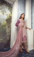Front Embroidery with Tilla  Back Embroidery  Extra side panels  Embroidered sleeves  Two side border shawl  Trouser with patch