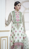 Front Embroidery with Tilla  Back Embroidery of tilla  Tilla Sleeves  Pallow patches for dupatta two side sleeves for dupatta  Front and Back patti  Trouser with patch