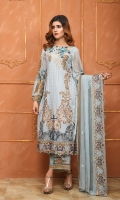 Front And Back Embroidery With Tilla,  Extra Side Panels, Embroidered Tilla Sleeves,  Front And Back Patti, Matha Patti Shawl,  Embroidery Patches For Trouser