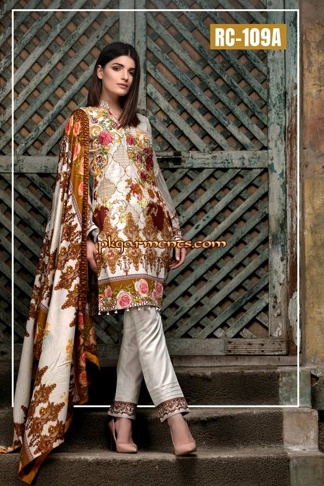88b6afa1f9 Alwaan Lawn Collection By Sana Sara 2018 | Pakistani Clothes ...