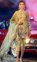 3pc embroidered unstitch suit