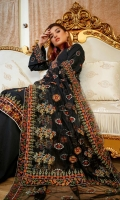 Embroidered Lawn Front Embroidered Lawn Back Embroidered Lawn Sleeves Embroidered Net Dupatta Embroidered Neck Patch Cambric Trousers