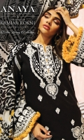 Embroidered Lawn Front Embroidered Lawn Back Embroidered Lawn Sleeves Embroidered Front Daman Patti Embroidered Front + Back Chaak Border Embroidered Front Corner Motif Cambric Cotton Trouser Digital Printed Trouser Border Digital Printed Silk Dupatta
