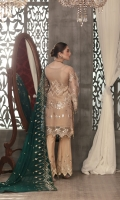 embroidered chiffon unstitched three piece suit