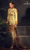 """45"""" Shirt front and back 26"""" sleeves 2.5 meter dupatta 2 meter trouser 3 buttons 1 meter embroidered border  30"""" embroidered border"""