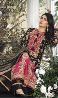 Embroidered Silk Suits Unstitched 3 Piece