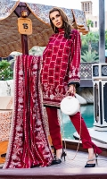 1.25m : Dyed Embroidered Front 0.75m : Dyed Embroidered Sleeves 1.25m : Dyed Embroidered Back 1 m : Embroidered Border for Back 2.5 m : Dyed Trouser 2.25 m : Dyed Embroidered Shawl