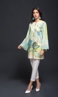 1 Piece  Fabric : Lawn Color : Printed Includes: Shirt Only