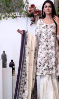 3 Meter Linen Printed Shirt 2.5 Meter Linen Printed Dupatta 2.5 Meter Dyed Trouser