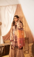 Dyed Shirt Embroidered : 3m Zari Dupatta : 2.50M Dyed Trouser : 2.50M