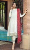 Dyed Embroidered Front 1.25 M Dyed Embroidered Back & Sleeves 1.75 M Jacquard Chunri Style Dupattaa  2.50 M Embroidered Lace 1 Yard Dyed Trouser  2.5 M