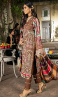 Dyed Front Embroidered 1.25 M Digital Printed Back & Sleeves 1.75 M Digital Print Shawl 2.50 M Dyed Trouser 2.50 M Embroidered Lace 1 Yard