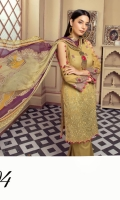 Embroidered Swiss Lawn Shirt Dyed Cotton Trouser Crinkle Chiffon Dupatta