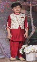Kurta shalwar with waistcoat