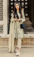 Embroided Dyed Khaddar Shirt 3.55 Mtrs Embroided Dyed Khaddar Dupatta 2.50 Mtrs