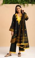 Shirt : Printed COTTON SATIN SHIRT 3M Duppatta: Printed Cotton satin Duppatta 2.5m
